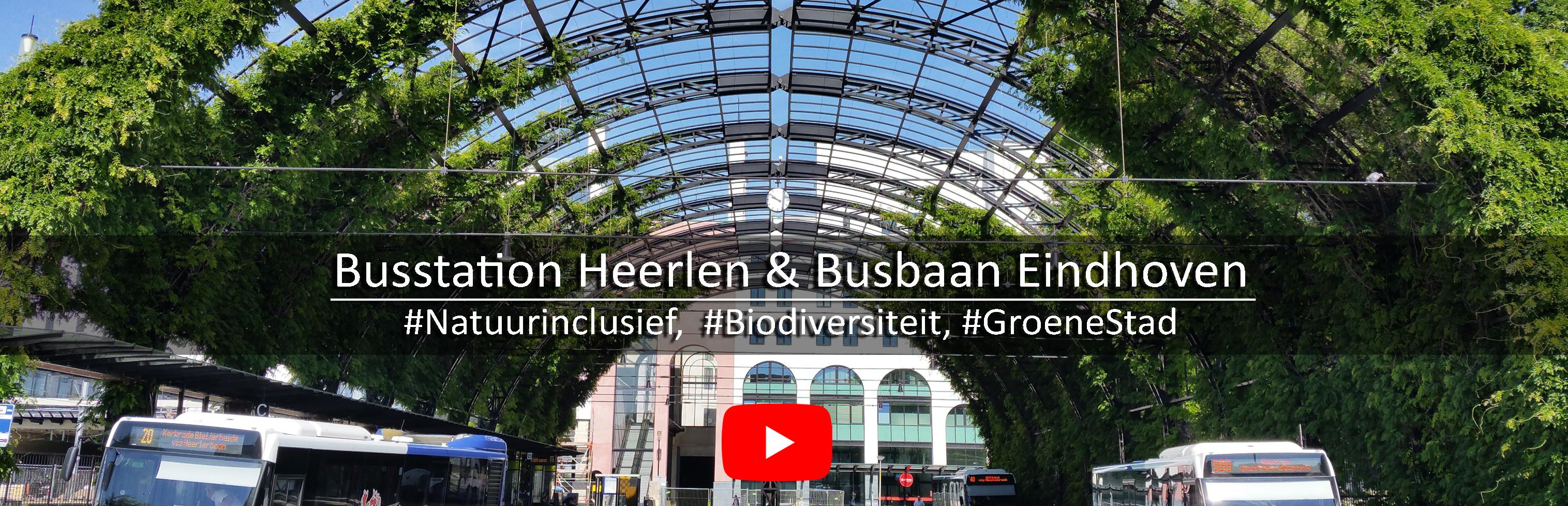Busstation Heerlen en Busbaan Eindhoven